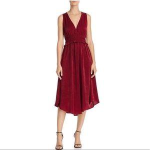 NWT RE:NAMED Valerie Surplice Sleeveless Dress